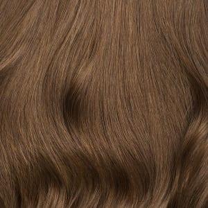 detalle de la cantidad de cabello que se puede encontrar en una extensión