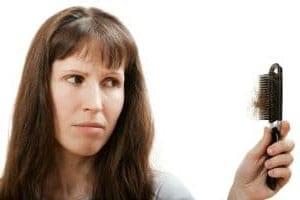 pérdida de cabello en mujeres.