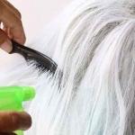 Peinando una peluca oncológica. Métodos para combatir los enredos desde el principio.