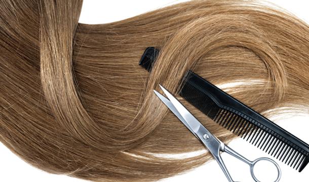 donación de pelo: cola de cabello de 30 cm