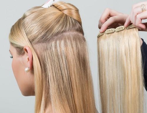 Extensiones de pelo natural Clip: la mega guía