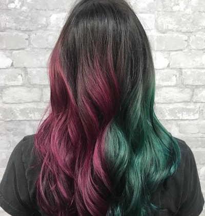 Color pelo half & half 2020