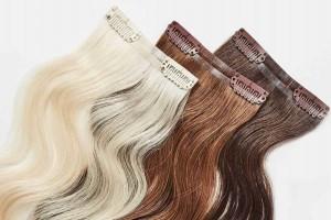 los mejores tipos de extensiones de cabello: remy, clip, adhesivas y keratina.