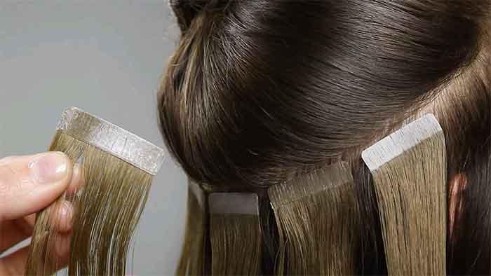 las mejores extensiones para cabello fino.